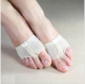 Foot Pads Foot Thongs Dance Paws Toe Undies Half Shoes Belly Dance Ballet Dancer