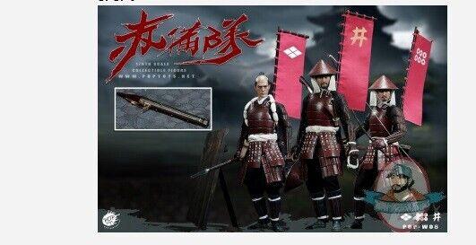 1 6 escala PopJuguetes ashigaru japonés Soldado del Pie Set W08