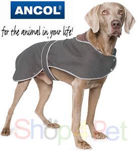 Ancol-Timberwolf-Extreme-Wax-Waterproof-Dog-Coat-5-Sizes