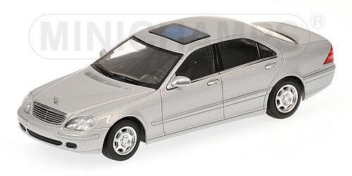 Mercedes S class class class 600SEL W220 1 43 Minichamps 27c122