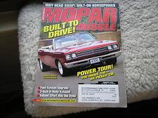 MOPAR MUSCLE   magazine  jan. 2004  '69 ROAD RUNNER     great pics