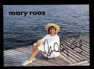 Sammeln & Seltenes Mary Roos Autogrammkarte Original Signiert ## Bc 92620 Spezieller Kauf