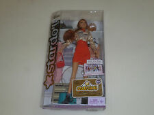 NEW IN BOX STARDOLL BARBIE DOLL GINGER RED HAIR BONJOUR BISOU MATTEL  NIB
