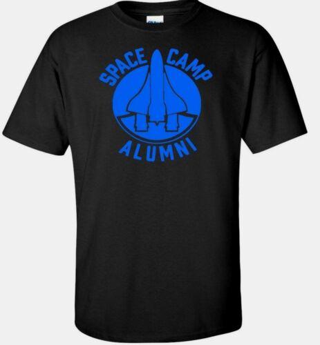 Space Camp Almuni Science Mens T Shirt NASA Astronaut Geek College black white