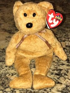 Ty Beanie Babies Collection CASHEW Bear April 22nd 2000 Retired Tagged MINT