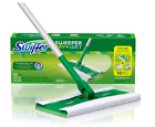 Swiffer Sweeper Floor MOP Starter Kit Dry Cloths Have 3x Cleaning Action.