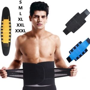 6358589dd58e5 Men Xtreme Thermo Shaper Waist Trainer Sauna Power Belt Sport Tummy ...