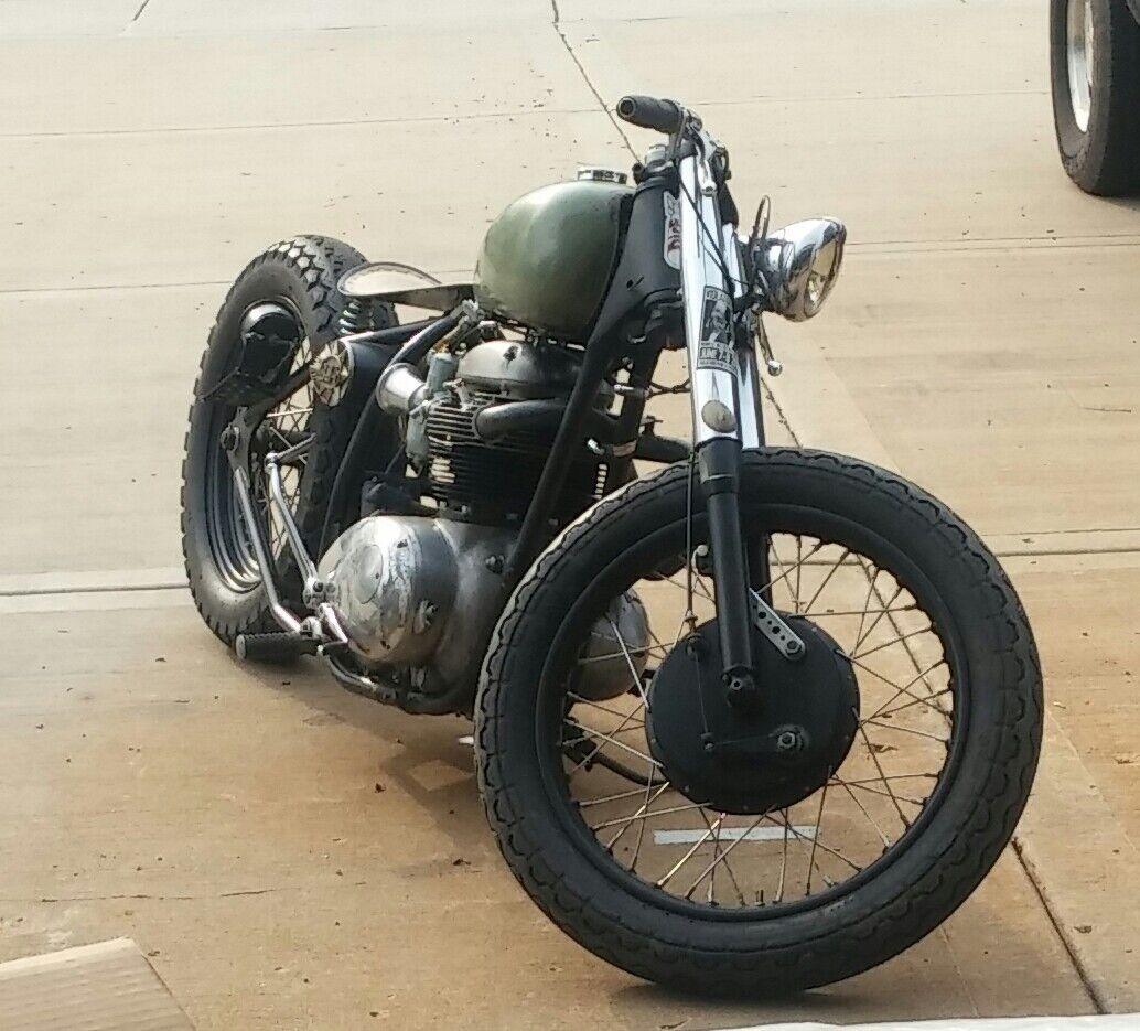 1968 BSA A65 Custom – Bobbers Motorcycle For Sale via Rocker