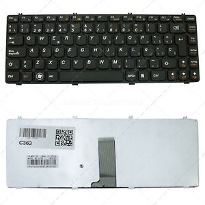 Keyboard for Lenovo Ideapad Y470 Y470N Y470P Y471 Y471A - España - Keyboard for Lenovo Ideapad Y470 Y470N Y470P Y471 Y471A - España