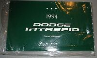 1994 Dodge Intrepid Owners Manual