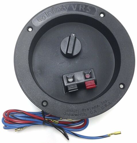 1 PC INFINITY 2-WAY CROSSOVER ON TERMINAL CUP AND TWEETER VOL CONTROL # VRS-2