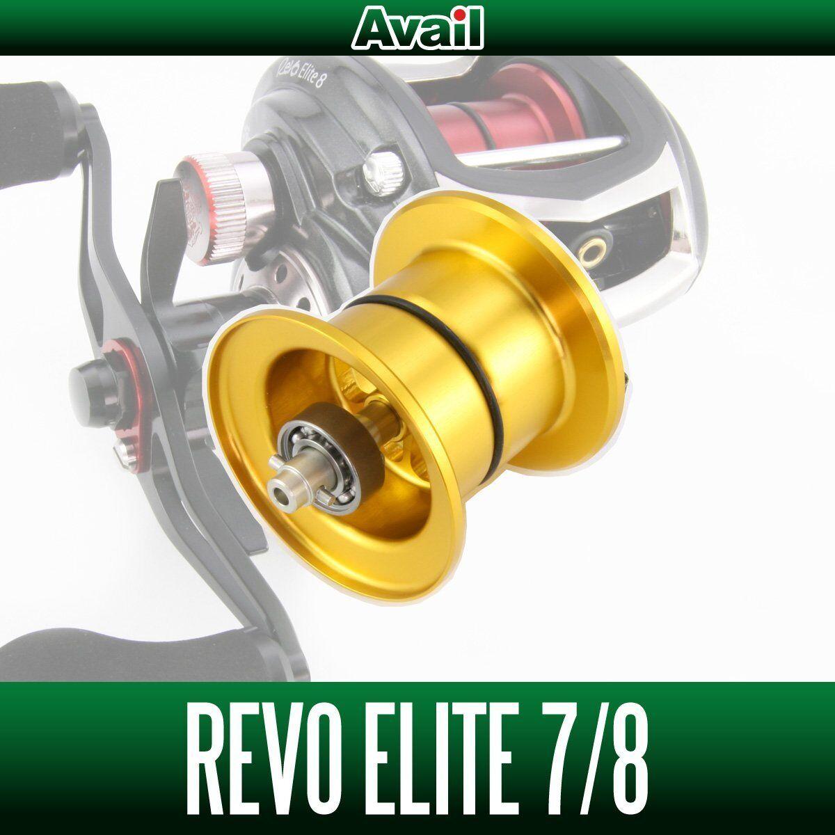 Avail ABU NY Microscast Spool RV352R -IV för Abu Revo3 ELITE guld