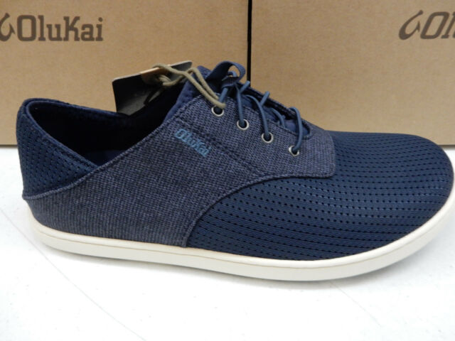 OluKai Mens Shoes Nohea Moku Night Size