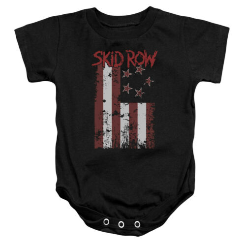 """Details about  /Skid Row /""""Flagged/"""" Infant One Piece"""