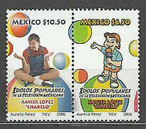 Mexico Mail 2006 Yvert 2239/40 MNH