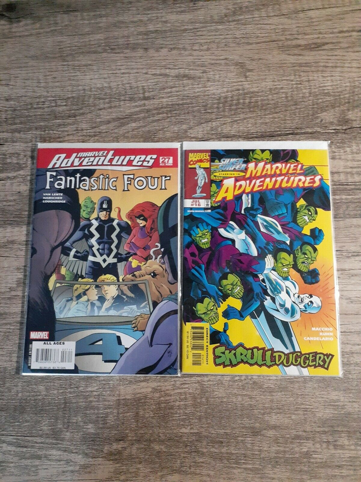 Fantastic Four #554 Coliseum of Comics Exclusive Arthur Suydam Skrull Variant