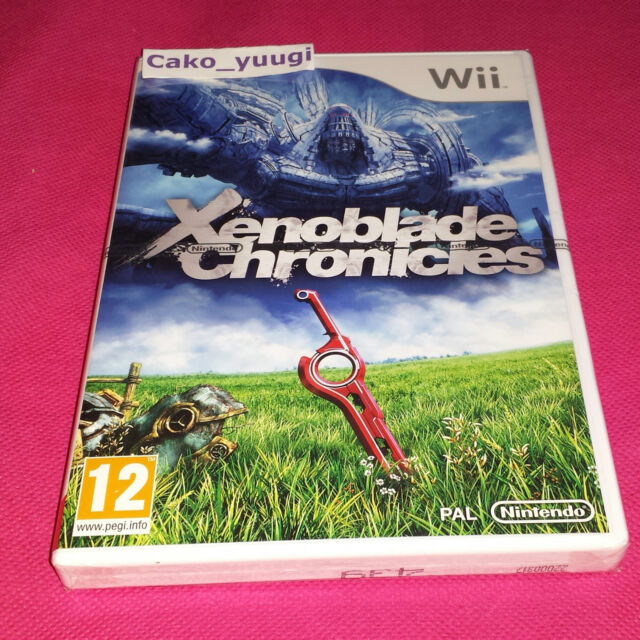 XENOBLADE CHRONICLES NINTENDO WII NEUF SOUS BLISTER VERSION FRANCAISE