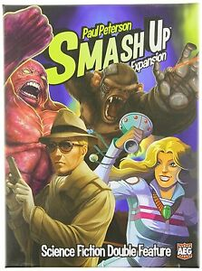 Smash Up: Science Fiction Double Feature Expansion , New, Free Shipping