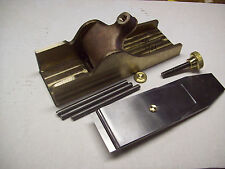 """Norris type bronze smoothing  plane infill kit machined castings  2"""""""