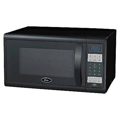 Oster 1.1 Cu. Ft. 1100 Watt Digital Microwave Oven - Black OGZJ1104
