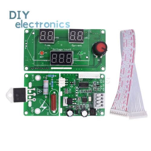 100A//40A Digital LCD display Spot Welder control Board Welding Time Current L2KD