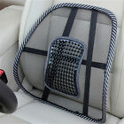 Massage Vent Mesh Lumbar Lower Back Brace Support Car Seat Chair Cushion Pad FT