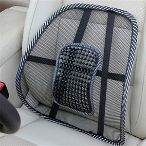 Lumbar-Lower-Back-Car-Seat-Support-Lumber-Cushion-Pain-Relief-OfficeChair-Mesh