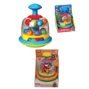 FUN-TIME-Baby-Toys-Spinning-Pals-Toddler-Merry-Go-Round-Spinning-Horses-Spin-Top
