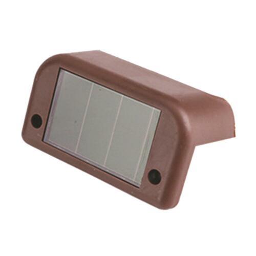 1-12PC LED Solar Betrieben Wandleuchte Wandlampe Solarleuchte Außenlampe Leuchte