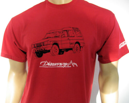 LAND ROVER DISCOVERY T-SHIRT Choose from three different colours in five sizes
