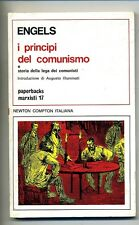 Engels # I PRINCIPI DEL COMUNISMO # Newton Compton 1973