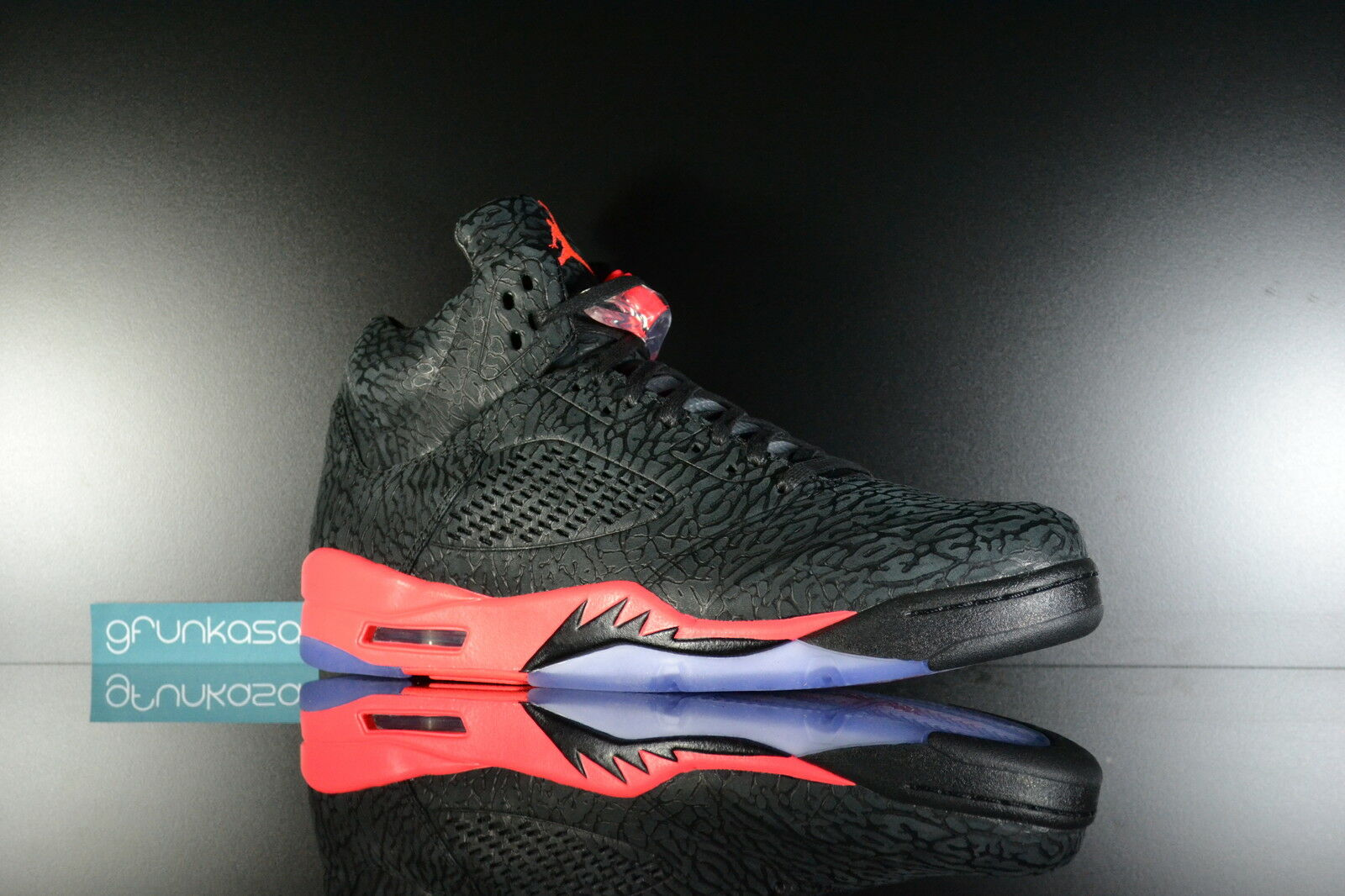 2014 Nike Air Jordan Retro 5 V 3Lab5 Infrared DS DS DS Size 10.5 Black Red Cement b63162