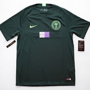 best website dab39 ddacc Details about Nike Nigeria Away Jersey Kit 2018 Men World Cup S M L XL 2XL  Small Medium Large