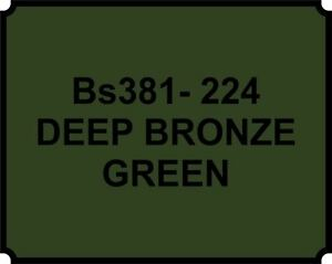 Image Is Loading Spray Can Deep Bronze Green Heat Resistant Paint