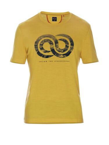 Men/'s Graphic T-Shirt Ss 140 Beryl Merino Reda Rewoolution Leadersheep