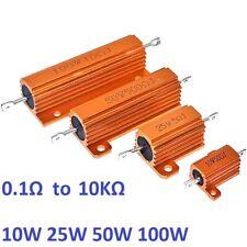 10w 25w 50w 100w Rx24 Aluminum Metal Shell High Power Case Heatsink Resistor 5