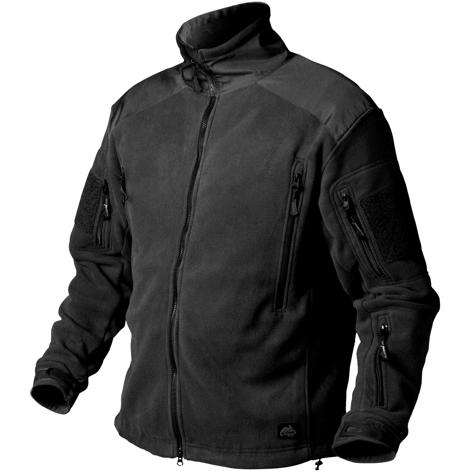Helikon Tex Liberty Heavy Fleece Jacket Jacke schwarz   Schwarz Outdoor - 390g m2