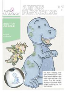 Bibs-That-Go-Roar-Anita-Goodesign-Embroidery-Machine-Design-CD-NEW
