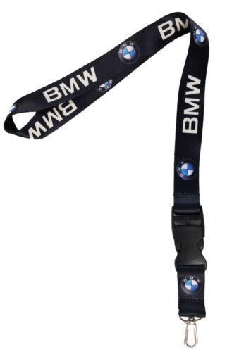 BMW Auto Car Logo Neck Strap Lanyard for Keyring Key Chains Cellphone Card