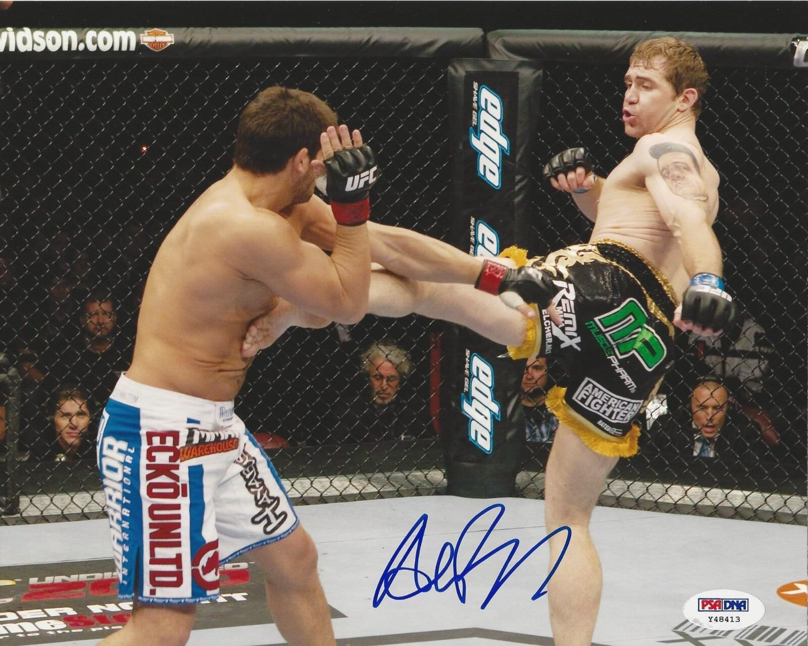 Alan Belcher UFC Fighter signed 8x10 photo PSA/DNA # Y48413