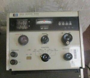 HP Hewlitt Packard model 4260A Universal Bridge RLC Impedance