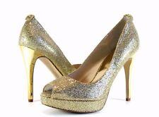 fdb80493e87 item 3 Michael Kors Women s York Platform Gold Glitter Peep Toe High Heel  Pump 10 -Michael Kors Women s York Platform Gold Glitter Peep Toe High Heel  Pump ...