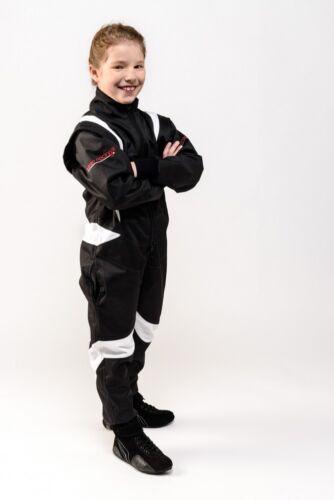Kartoverall Motorsportoverall keep-racing® schwarz//weiß Modell CRUISER FLEX
