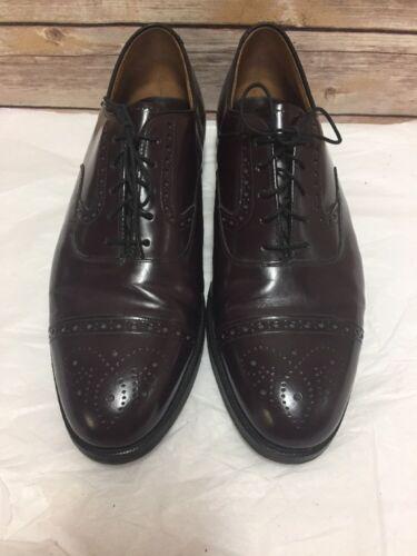 Murphy Johnston Cuir Cordovan 10 Oxford D Chaussures Brogue 40419 5 Casquette En Homme qadaFxB