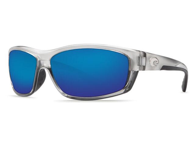 e50fb8d80c9 Costa Del Mar SALTBREAK Silver Blue Mirror 580p Sunglasses for sale ...