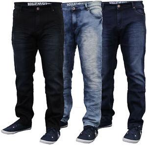 Da Uomo Slim Fit elastico jeans da Soul Star  </span>