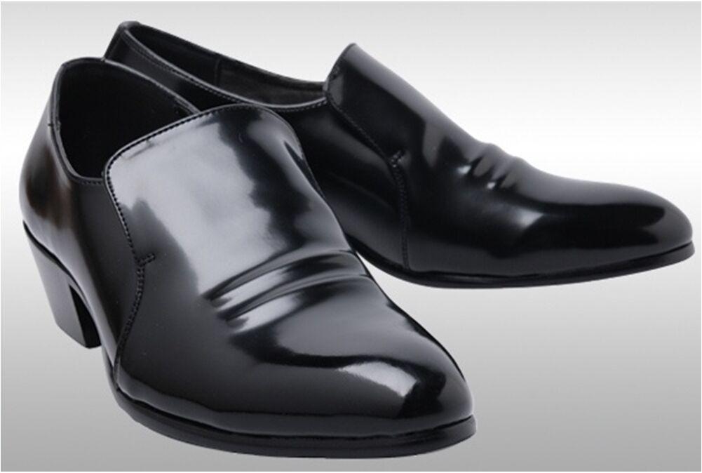MOODA Men Oxfords Dress Schuhes for Men MOODA Formals Slip Round Tip Leder Casual Brogues 40d49c