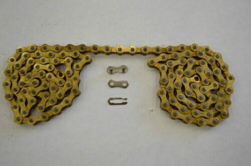 "COLORED 116 Link YABAN SINGLE SPEED Bicycle Bike Chain 1//2/""x1//8/""x116L"