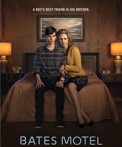 """Norma and Norman Bates Bates Motel 14 x 11/"""" Photo Print"""