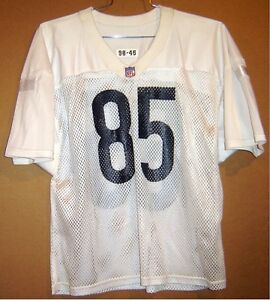outlet store e8988 5bd24 Details about 1998 CHICAGO BEARS ALONZO MAYES #85 WHITE Mesh NFL PRACTICE  JERSEY